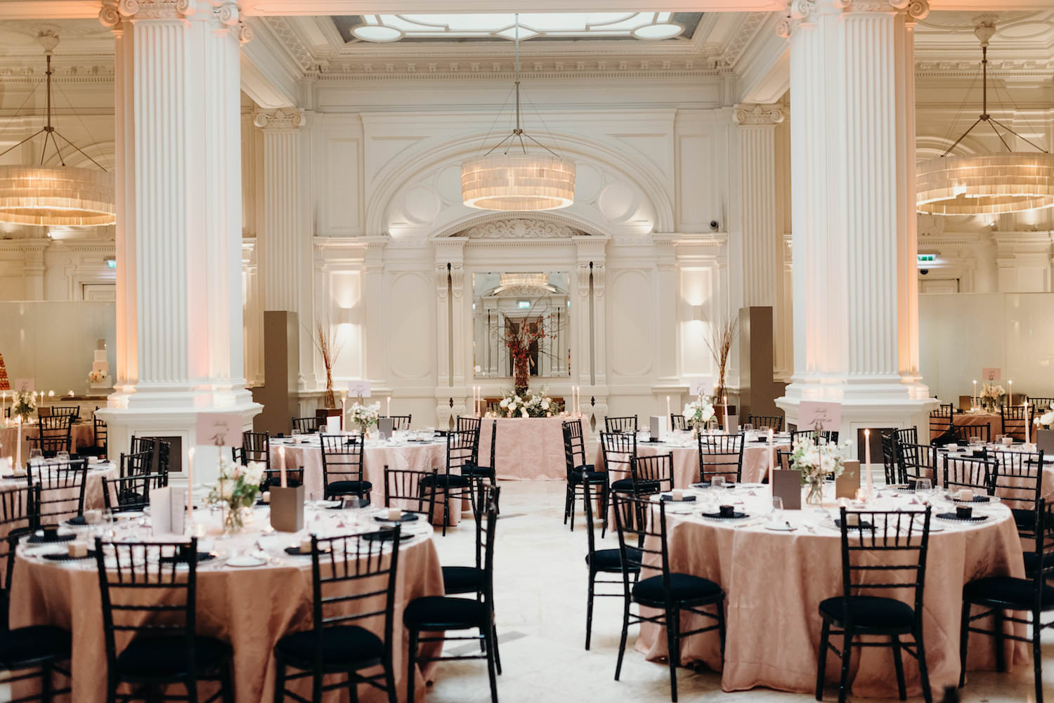 Luxury London wedding reception with The Events Designers