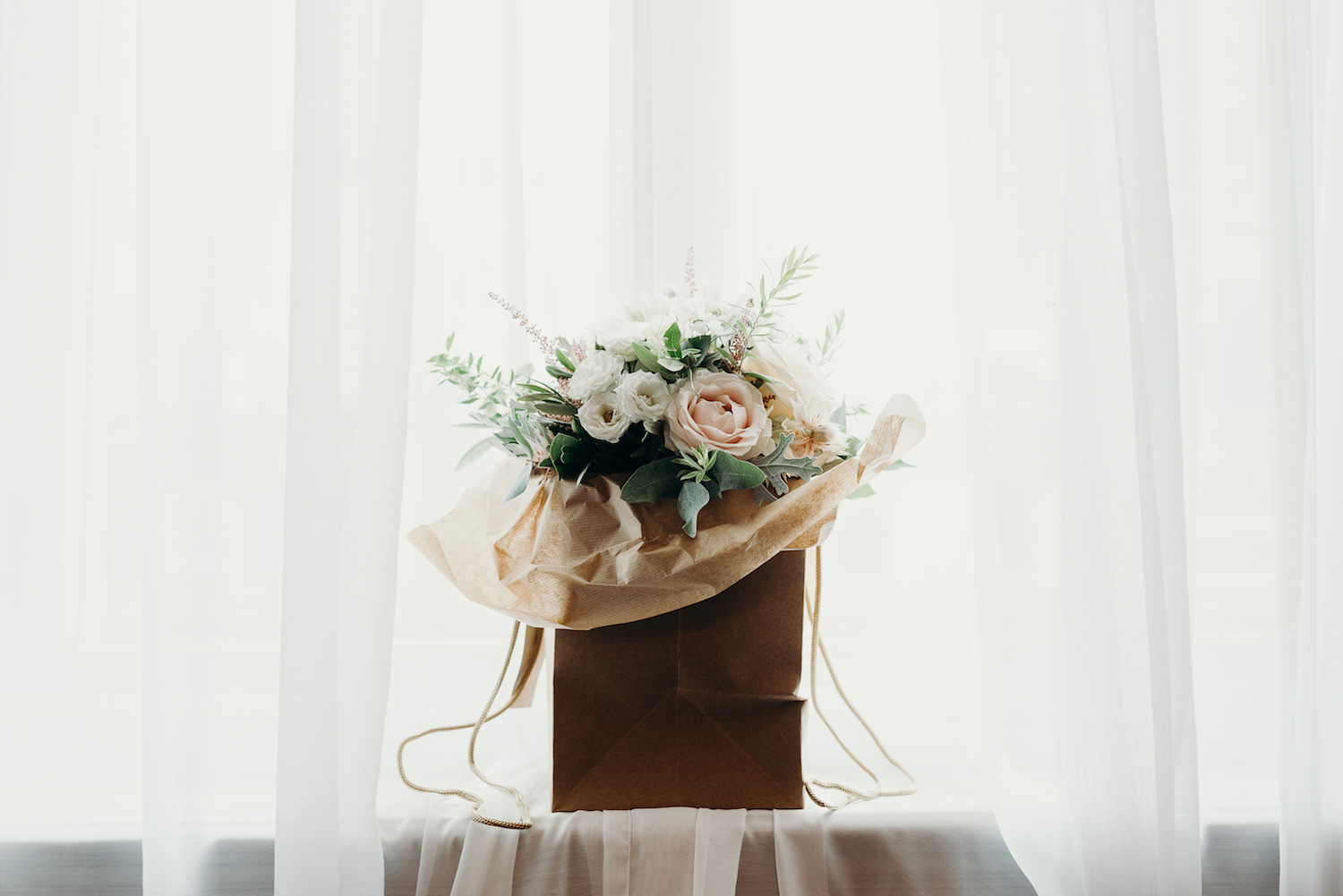Wedding bouquet designed with The Events Designers