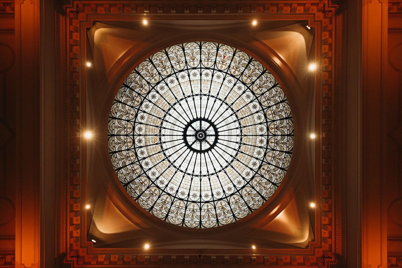 Stunning dome halo at 1901 Ballroom, Andaz London